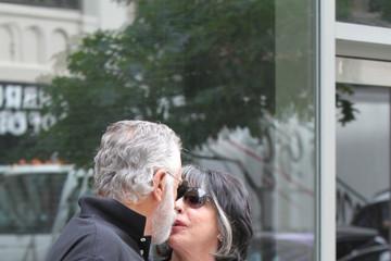 Barbara Goldsmith Jonathan Goldsmith Spends the Day with His Wife