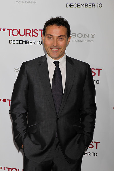 Rufus Sewell poses on the red carpet on at the world premiere of The Tourist at the Ziegfield Theater in New York..