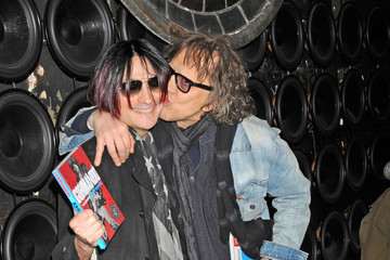 Mick Rock Celebs at the 'Commando' Book Launch
