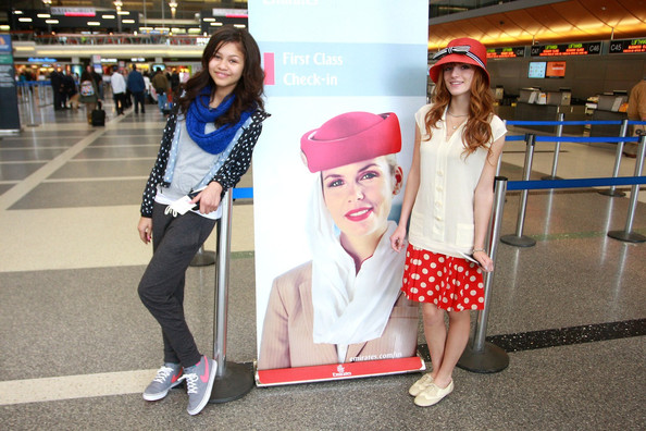 Zendaya Coleman and Bella Thorne - Bella Thorne and Zendaya Coleman at the Airport