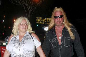 Beth Smith Duane 'Dog' Chapman Gets Dinner in LA
