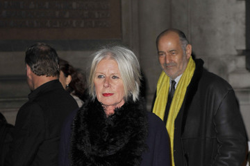 Betty Jackson Celebs Out Late in London
