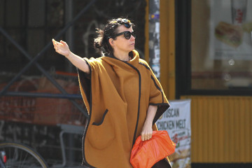 Bjork Bjork Tries to Hail a Cab in NYC 2