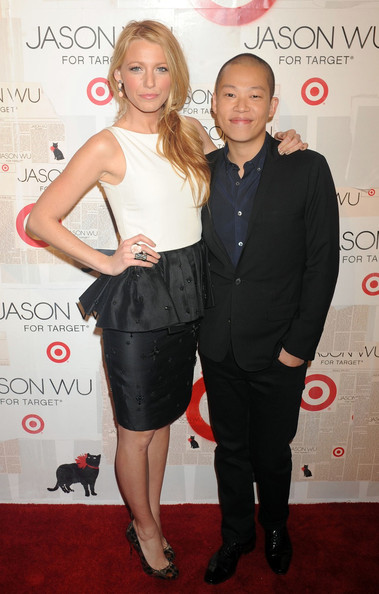 Blake Lively Blake Lively and Jason Wu attending the Jason Wu For Target launch at Skylight SOHO in New York City.