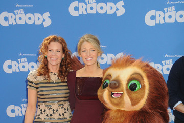 Blake Lively Robyn Lively 'The Croods' Premieres in NYC