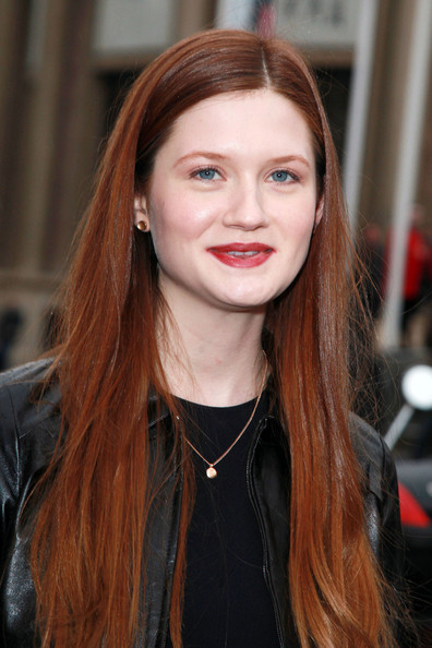 Bonnie Wright - Celebs at the Miu Miu Show at Paris Fashion Week