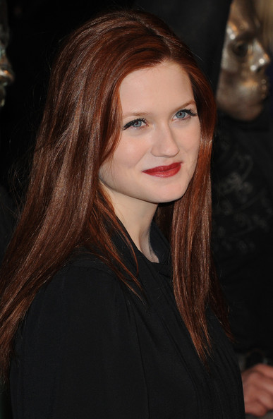 "Bonnie Wright Bonnie Wright on the red carpet at the ""Harry Potter And The Deathly Hallows: Part 1"" premiere held at Odeon Leicester Square in London."