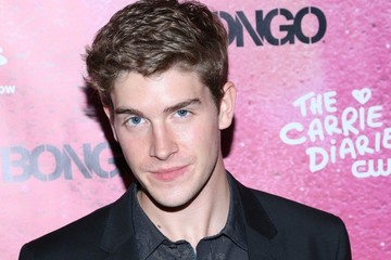 Brendan Dooling Stars at the Premiere Party for 'The Carrie Diaries' Season 2