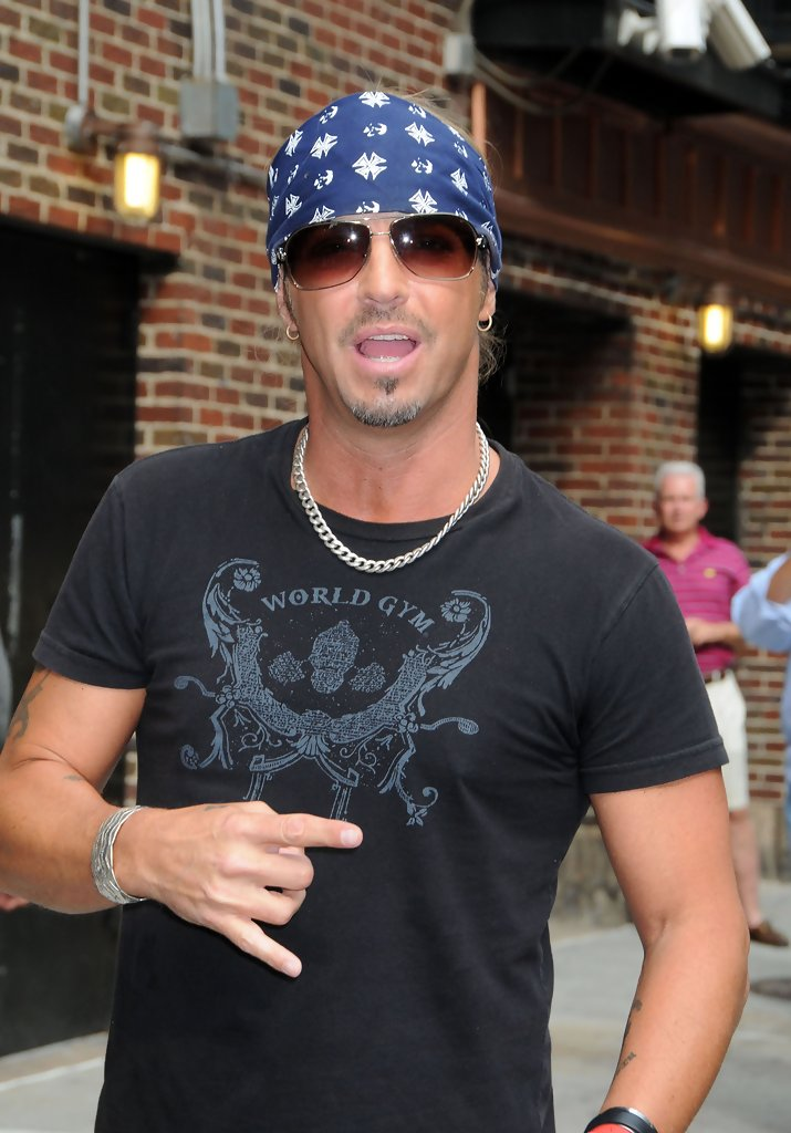 bret michaels photos photos bret michaels at the ed. Black Bedroom Furniture Sets. Home Design Ideas