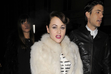 Jamie Winstone Kelly Brook at the Dior Party at the Claridges Hotel in London