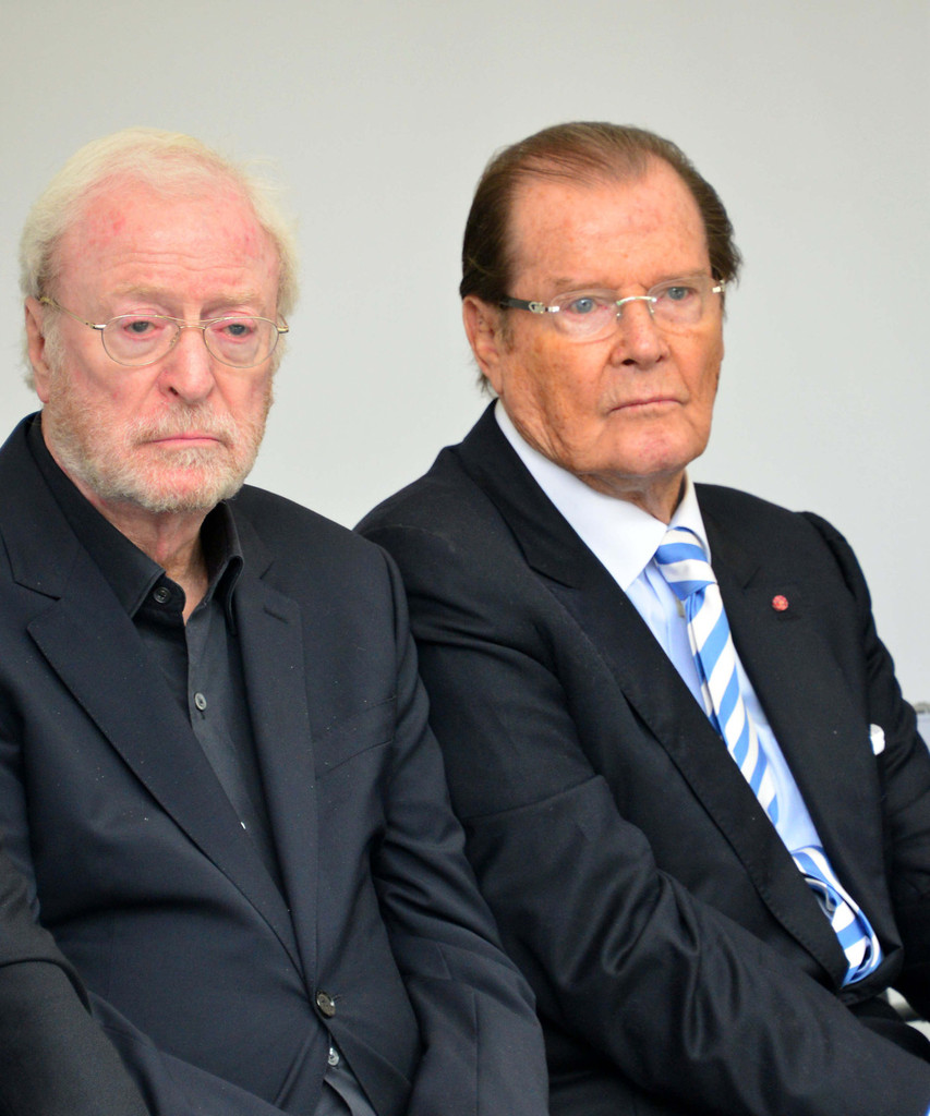 Roger Moore And Michael Caine Photos Photos