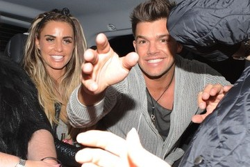 Katie Price Leandro Penna Katie Price and Fiance Leave The Aura Night Club in London