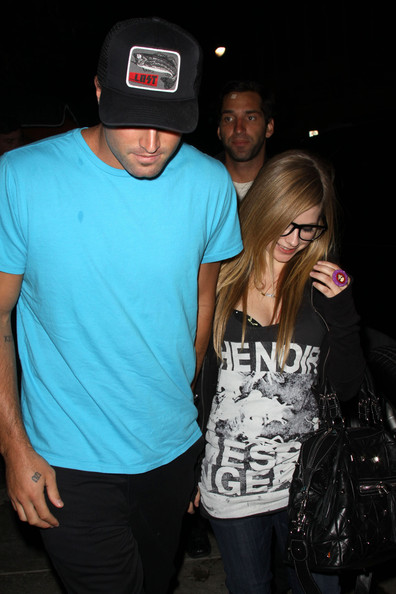 Brody Jenner And Avril Lavigne Tattoos. Avril Lavigne Wednesday July 7
