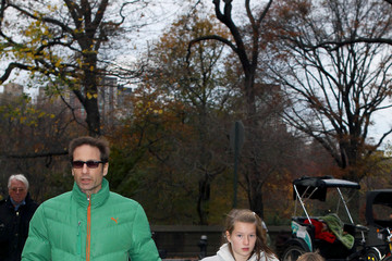 Kyd Duchovny David Duchovny in Central Park
