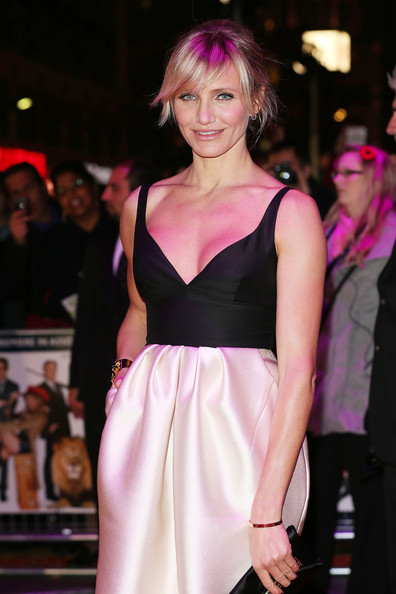 Cameron Diaz - Cameron Diaz at the 'Gambit' World Premiere