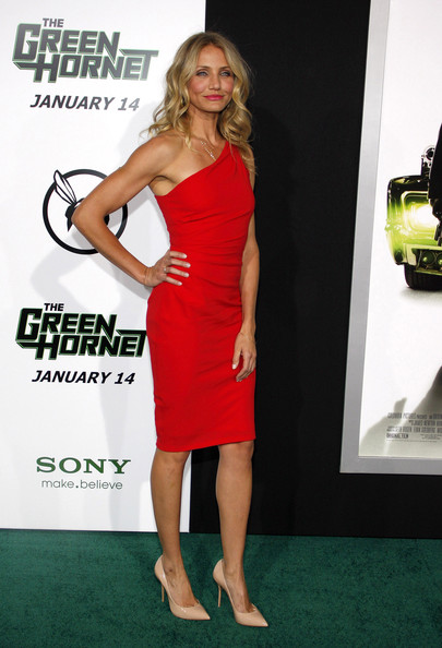 "Cameron Diaz at the Los Angeles premiere of ""The Green Hornet"" held at the Grauman's Chinese Theater, Los Angeles."