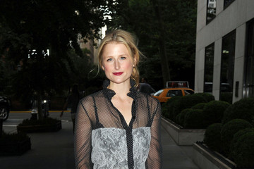 Mamie Gummer Carey Mulligan at the Lincoln Center Institute Junior Spring Benefit in New York