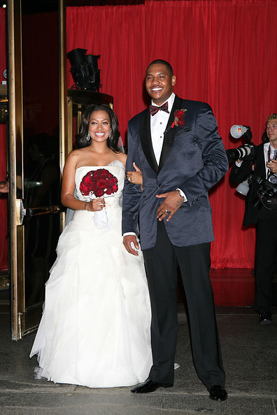 lala vasquez and carmelo anthony. La La Vazquez and Carmelo