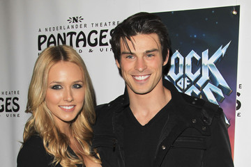 Sheridan Sperry 'Rock of Ages' Opening Night