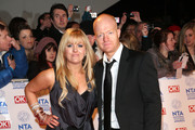 Jo Joyner and Jake Wood on the red carpet for the National Television Awards at the O2 Arena in London.
