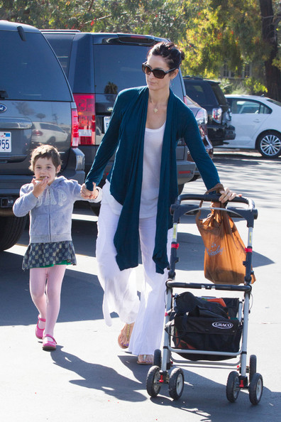 Photo of Carrie-Anne Moss & her Son  Owen Roy
