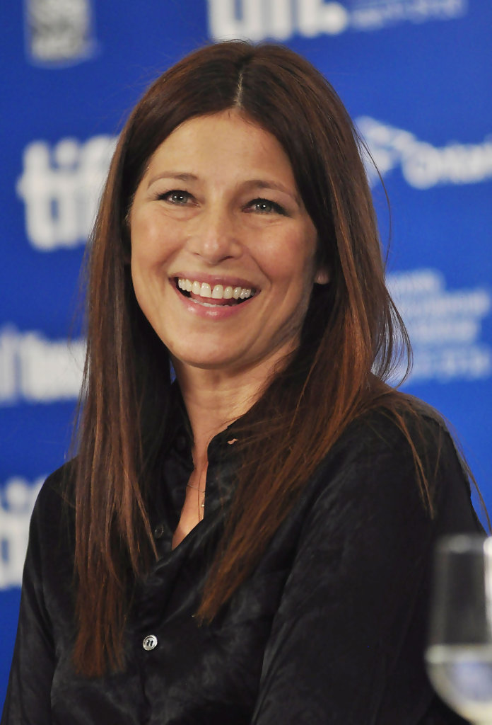 Catherine Keener in Catherine Keener at the 'Trust' Press ...