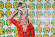 Helen Chamberlain and Spud attend the fourth Wetnose Animal Annual Awards ceremony in aid of non-profit organisation to recognise small, independent animal rescue centres in the UK and abroad at the Jumeriah Carlton Tower hotel in London.