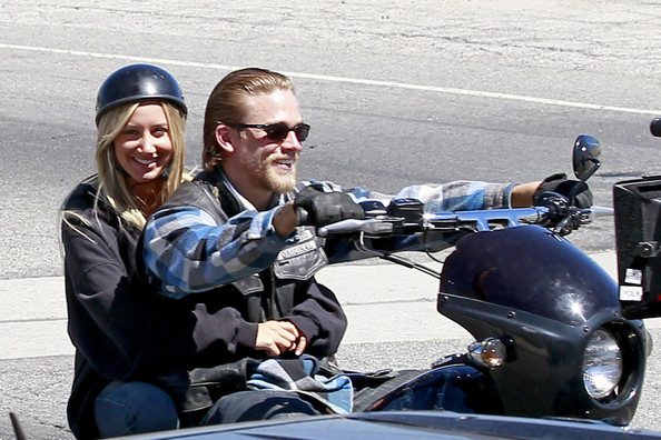 Charlie Hunnam Pictures Ashley Tisdale Holds Onto