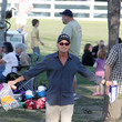 Eloise Charlie Sheen and Denise Richards Watch Their Daughter's Soccer Game