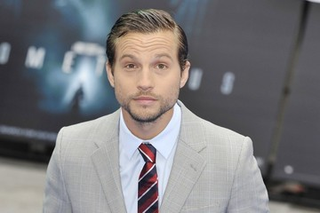 """Logan Marshall-Green Charlize Theron at the London premiere of """"Prometheus"""""""