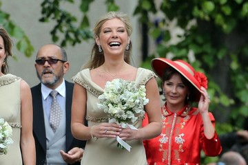 Chelsy Davy Melissa Percy's Wedding — Part 3