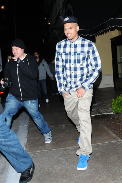 Chris Brown Clothes Pictures Show Wacky Style Chris Brown Zimbio