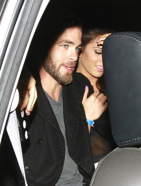 Chris Pine couple