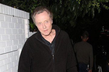 Christopher Walken Christopher Walken Arrives at Chateau Marmont — Part 2