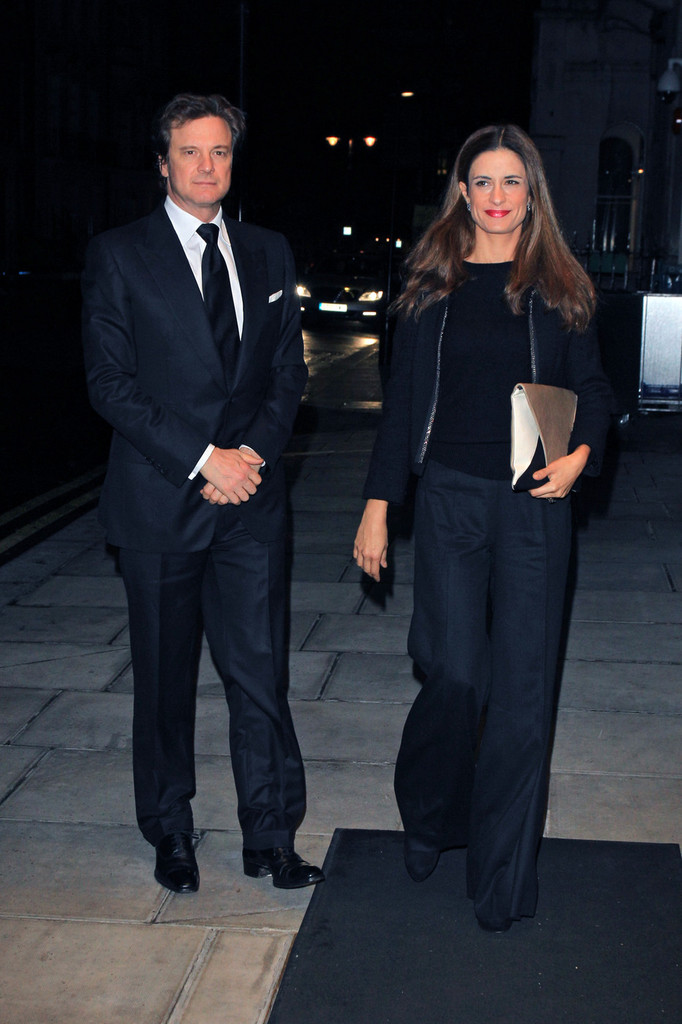Colin Firth Attend the Tom Ford Dinner during London ...