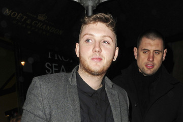Contestant James Arthur seen partying till the early hours of the morning at the Aura Nightclub in London after the live taping of the 'X Factor'