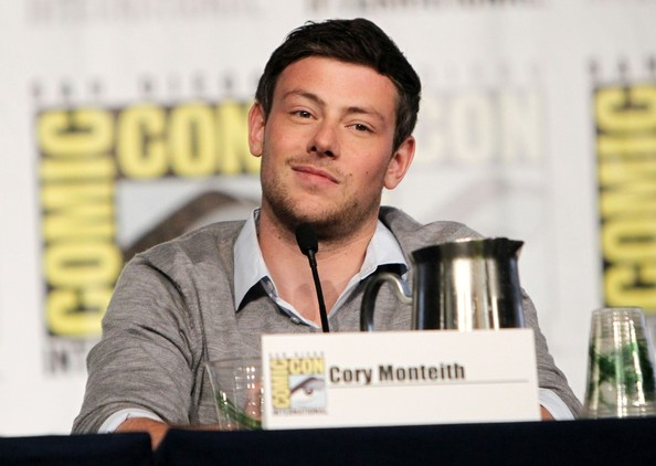 Cory Monteith - 'Glee' Stars Leave Their Comic-Con Panel