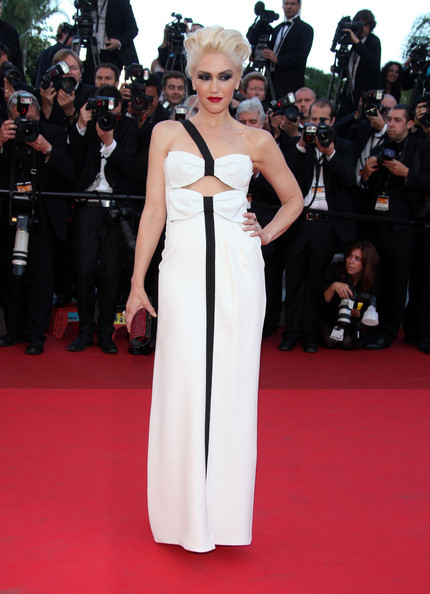 "Gwen Stefani attends a screening of ""This Must be the Place"" at the Cannes Film Festival."
