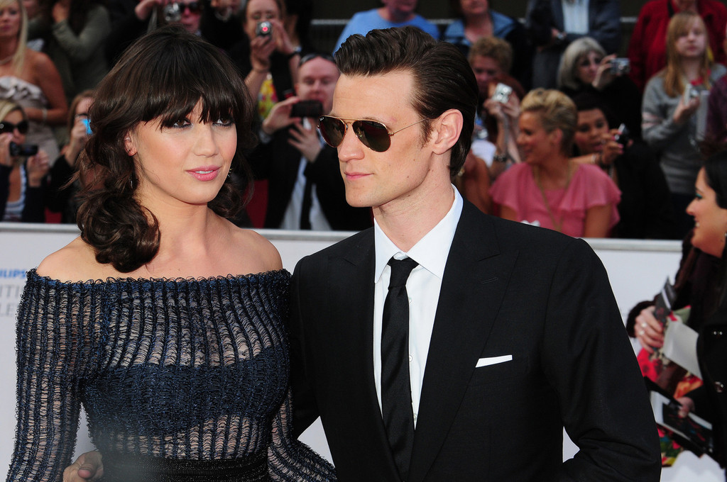 Matt Smith in Daisy Lowe at the BAFTAS in London - Zimbio