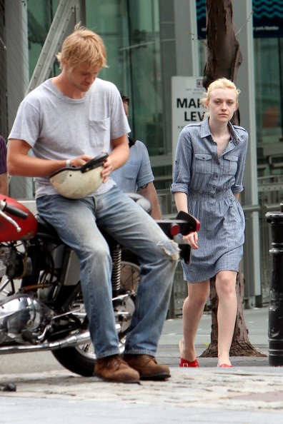 Boyd holbrook dating dakota fanning