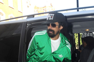 Damian Marley Damian Marley Arrives at the BBC Radio Studios