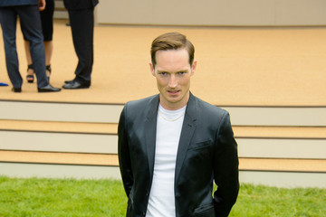 Dan Gillespie Arrivals at the Burberry Prorsum Runway Show