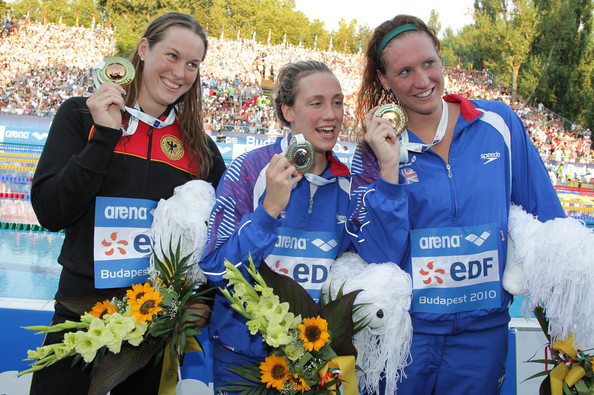 Gemma Spofforth at the European Swimming Championships 2010