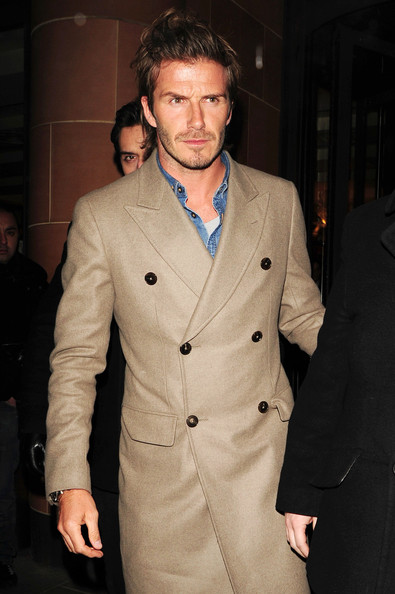 David Beckham Photos Photos - David Beckham Leaves C London - Zimbio