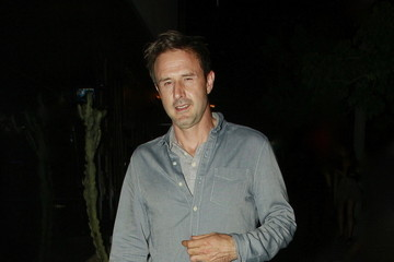 David Arquette David Arquette  Leaves Bootsy Bellows