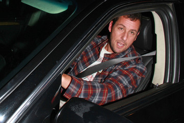 Adam Sandler David Arquette Out in Hollywood
