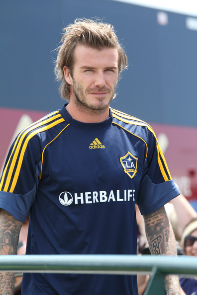 262ee4c492 David Beckham at an LA Galaxy Training Session - Zimbio