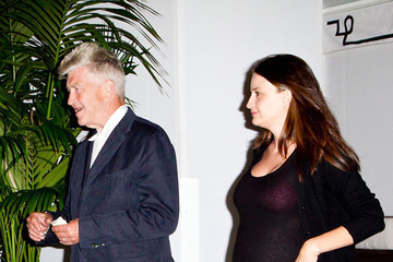David Lynch David Lynch Leaves Chateau Marmont