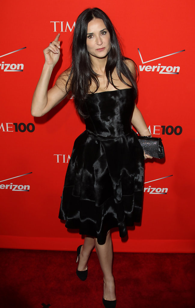 Demi Moore - Celebrities at the Time 100 Gala in New York
