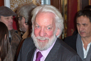 Donald Sutherland Celebs at the 'Jappeloup' Premiere in Paris